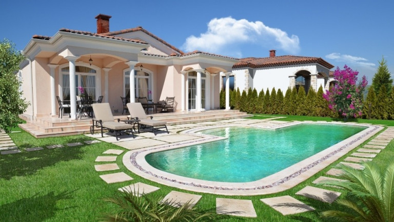 Луксозен затворен комплекс в Средиземноморски стил в к-к Слънчев бряг