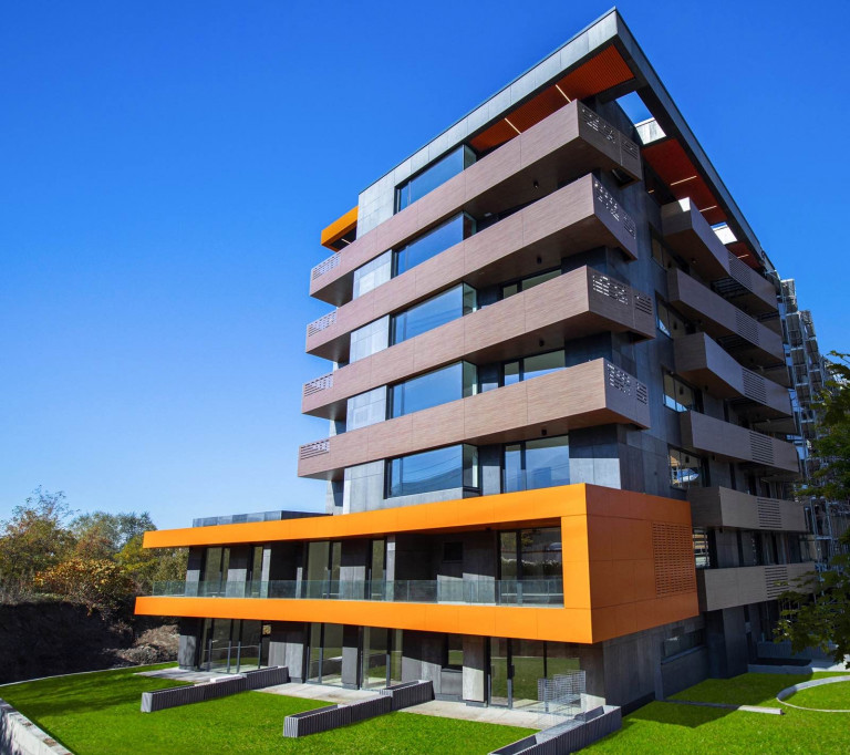 The modernist residential building