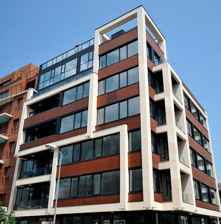 Functional building in Iztok district