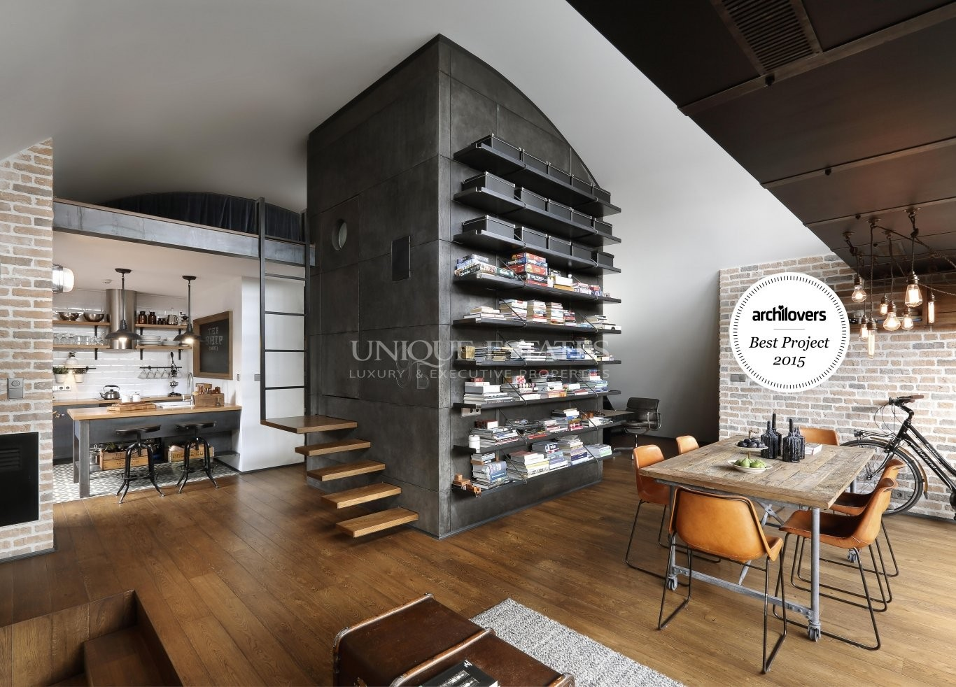 6933 loft 9b an industrial style loft brought to perfection
